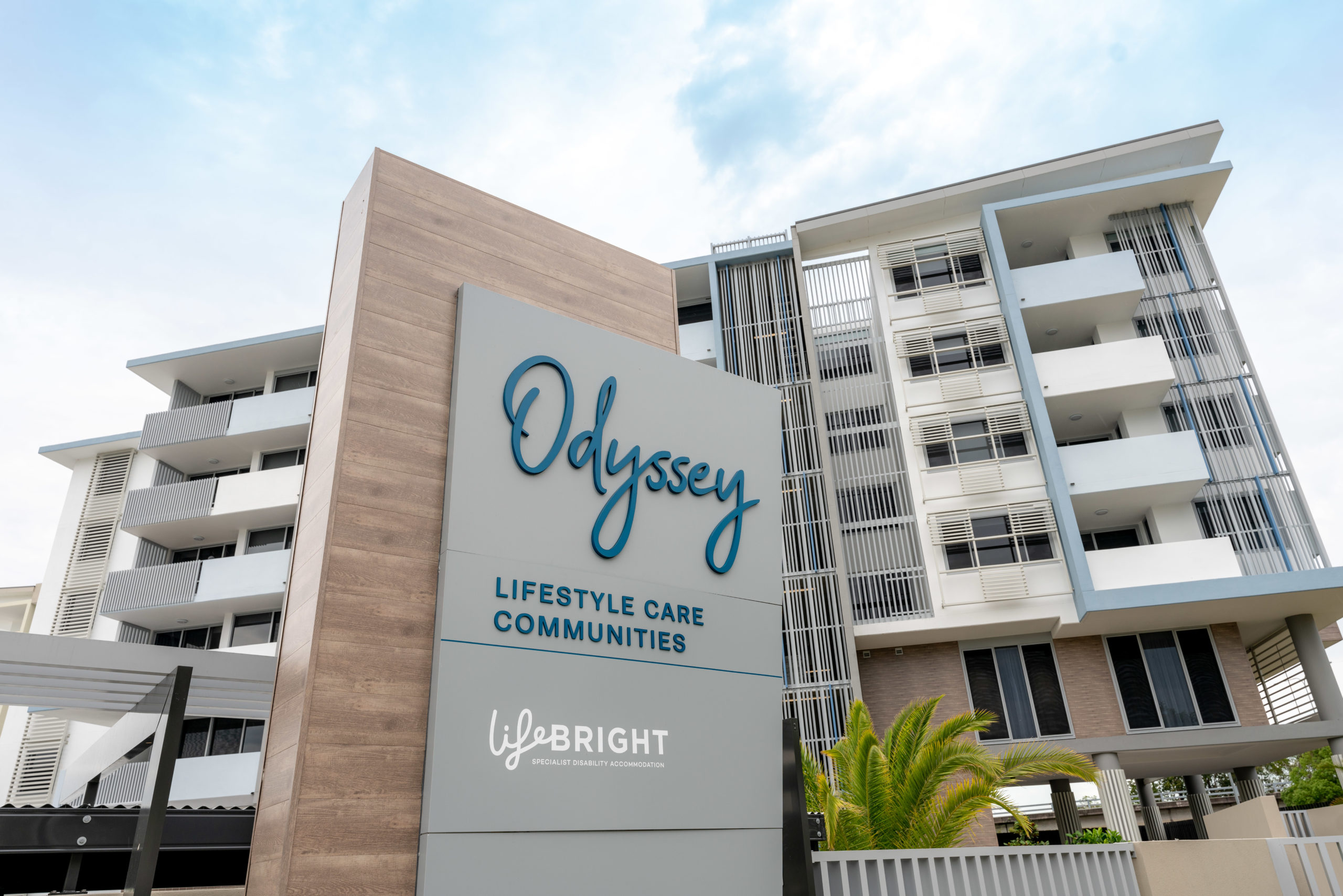 An image of the exterior of Odyssey Lifestyle CareCommunity in ROobina